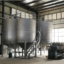 Vacuum system used engine oil recycling machine with 75% low sulphur diesel output