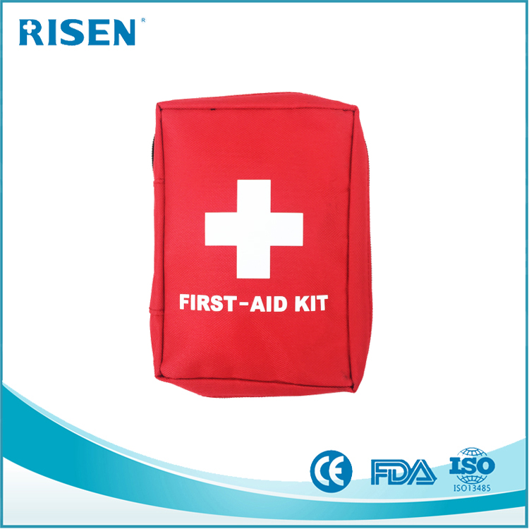 factory direct private logo small first aid kit/first aid packs/first aid pouch