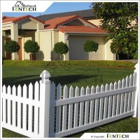 Made in China High Quality Boundary PVC/Vinyl/Plastic Fence Manufactuer