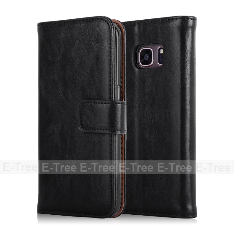 Luxury Leather Phone Case Folio Cover For Samsung Galaxy S7 G9300