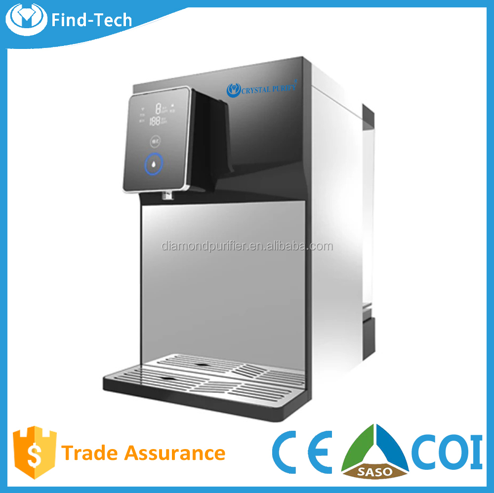 5 stage 100gallon cold and hot household water treatment appliance reverse osmosis water dispenser
