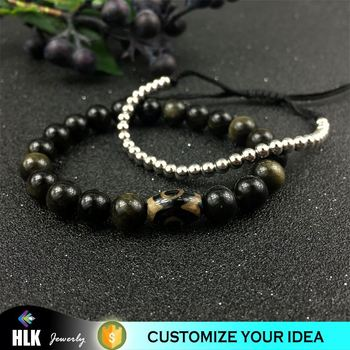 Jewelry body bracelets bangles bracelet natural agate stone beads for women men