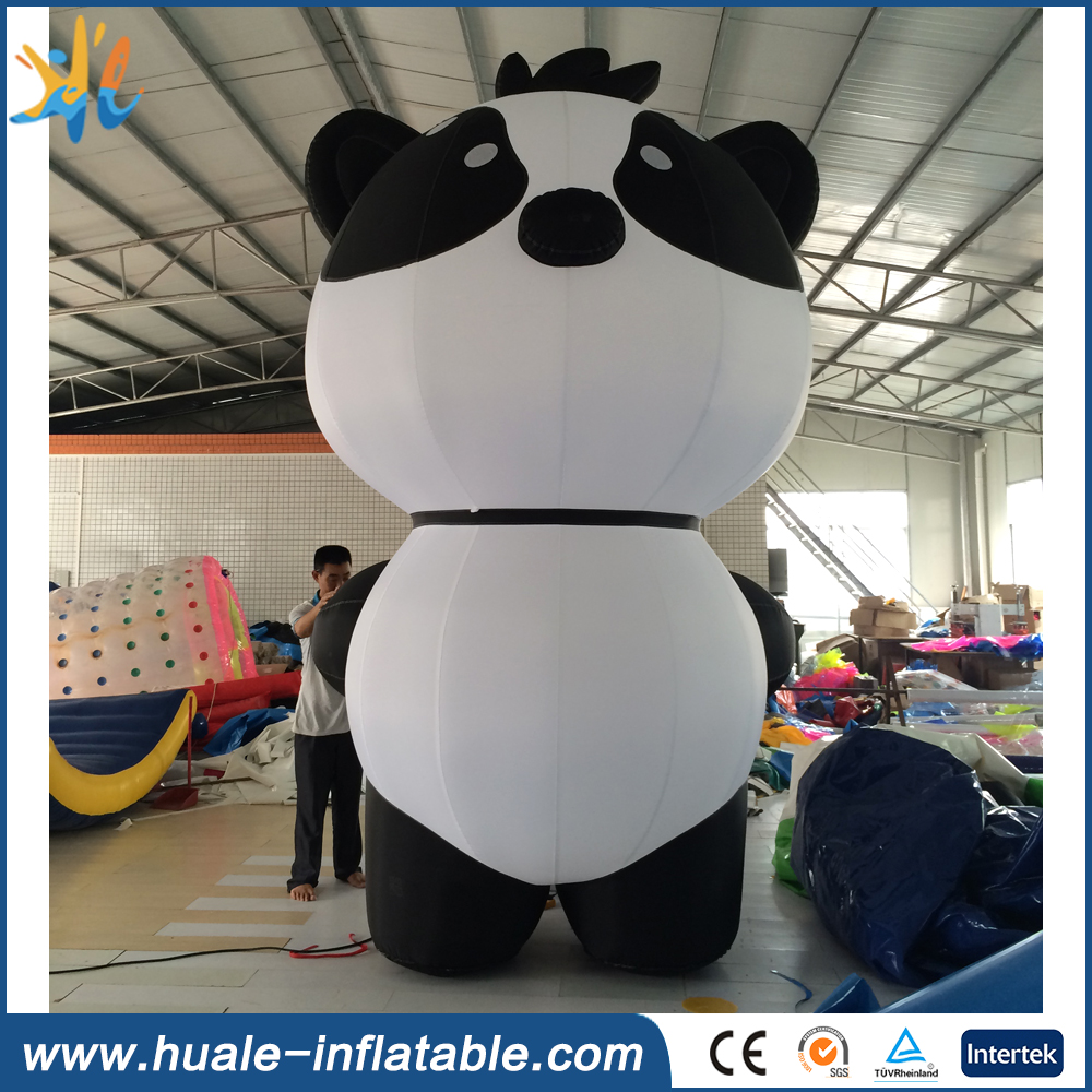 2016 best popular giant inflatable panda balloon cartoon carnival