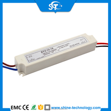 Ac to dc Waterproof ip66 ip67 ip68 constant voltage led switching power supply driver adapter transformer 12v 12w 1a