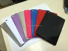 For ipad air 2 , S design tpu ipad case for ipad 6