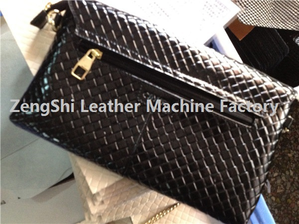 Hydraulic leather bag Pattern emboss making machine