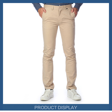 New Collection Fashion Twill Cotton Pants For Men