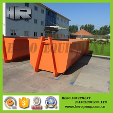15m mechanical handling equip & parts roll off dumpster hook lift bin