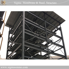 Space frame steel structure for auto car parking system