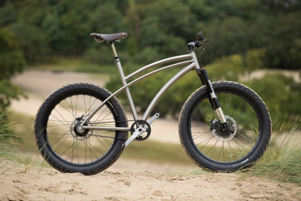 xacd made titanium fat bike frame hot sale Titanium fat bike frames Ti fat bike frame MTB bike frame