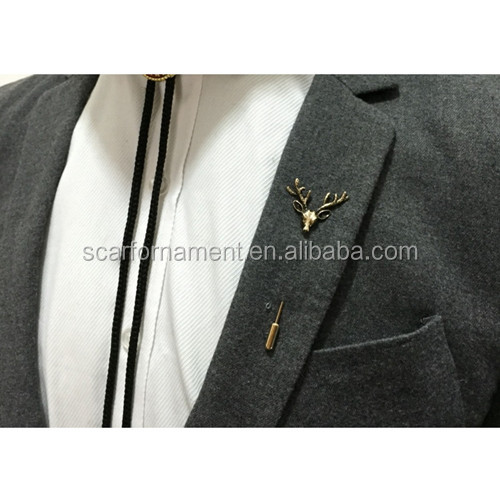 Latest Lapel Pin For Men And Women Suits Gold/Silver Antler/Elk/Deer Mask Moon And Sun Metal Brooch