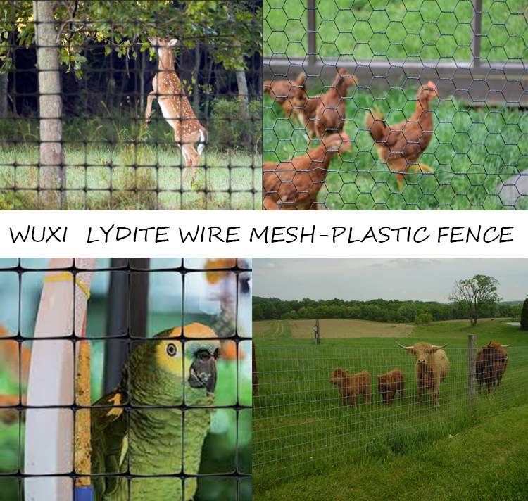 Poly Deer Netting Poultry Netting Poly Plastic Fence Netting