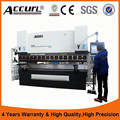 Accurl brand 100ton cnc bending machine with servo front support