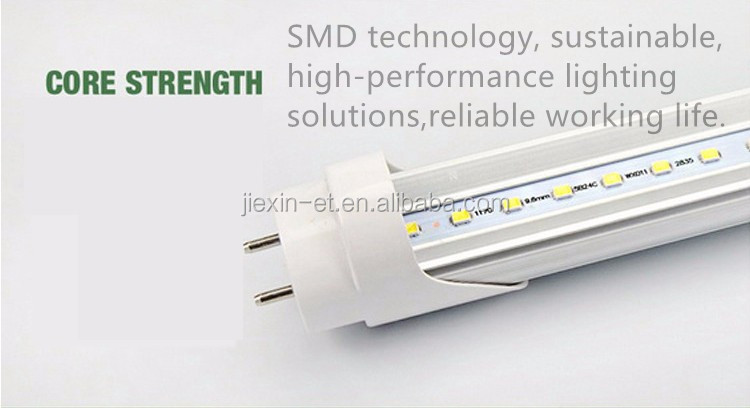 Listed electronic ballast compatible 18watt t8 led <strong>U</strong> Bend tube