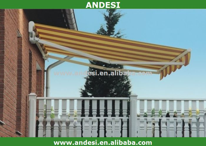 aluminum electric used door awnings