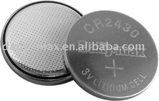 CR2430 Button Lithium Battery