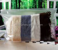 PVC clothing zipper bag