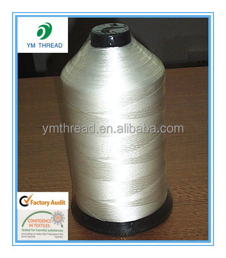 100% Nylon 6.6 Bonded Nylon Thread for Leather Sewing
