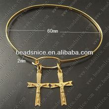 Beadsnice Bracelet Brass 2mm 7.5inch jewelry crosses for to make bracelets bezel bracelet blank