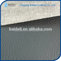 novel design polyester fabric leather for sandals