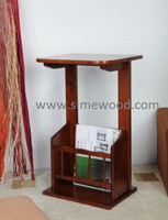 Oval Side Table, Wooden End Table, High Quality Wooden End Table, End Table