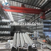 Chinese mill supply steel pipe galvanized / schedule 60 galvanized steel pipe / with best factory price