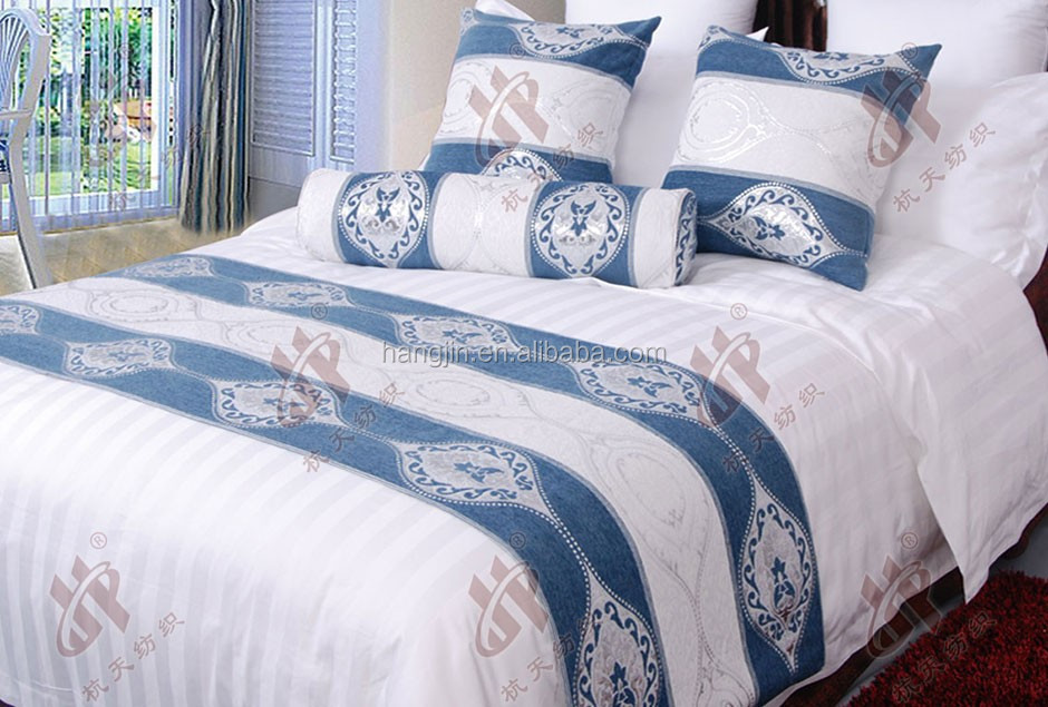 Hotel Bed Runner,Squard Pillow Cover,Hotel Linen/Textile