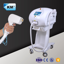 Weifang KM updated laser paint removal machine 808nm(CE/ISO/TUV)