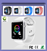 Big Stock Cheap Supply 1.54 Inch Touch Screen Pink/Green/White/Black/Blue/Red Color Options Sim Card Bluetooth A1 Smart Watch