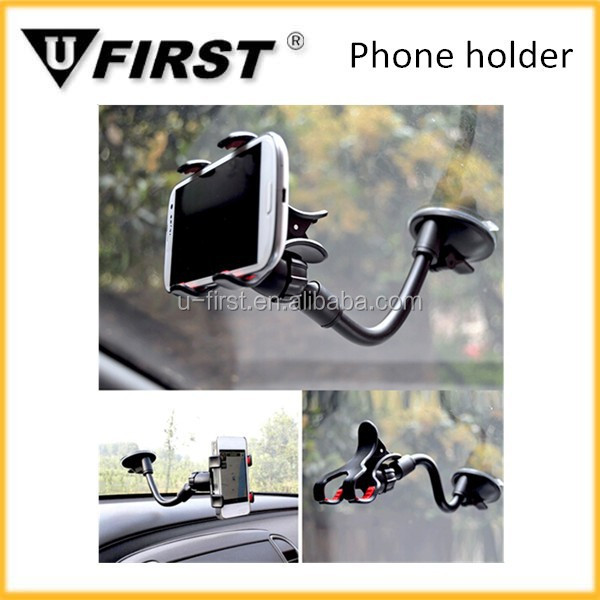 Universal car windshield mobile phone holder, adjustable car mobile phone holder
