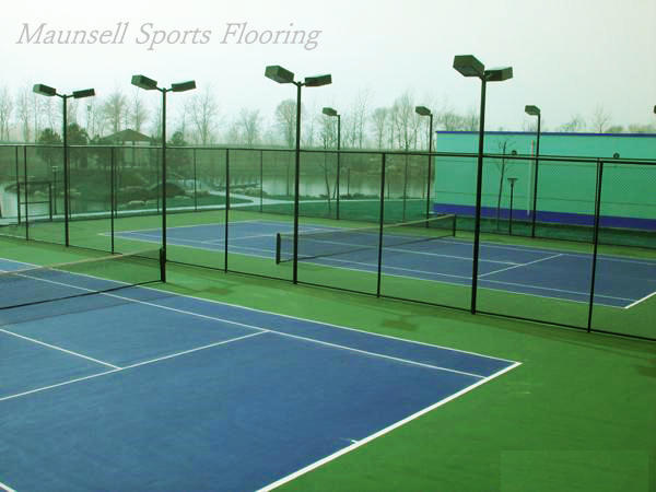 Easy install Portable tennis Court Floor/Interlocking Sports Floor Mat