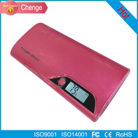 New arrival lcd 3g wifi 8000mah power bank external battery charger