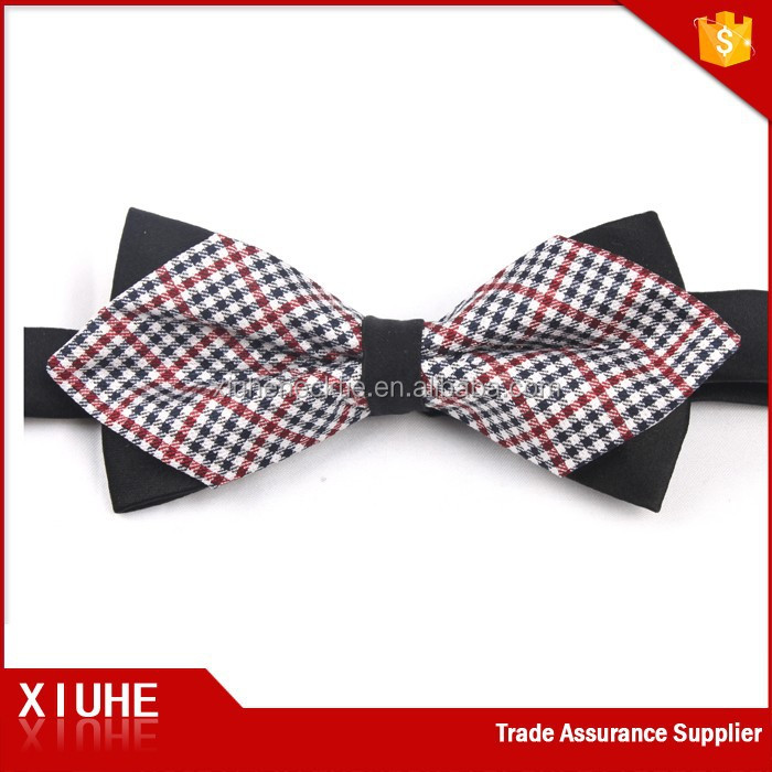 2017 Business Men's Novelty Fake Two Pieces Bow Tie