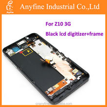 Repair parts for Blackberry Z10 3G lcd touch screen;lcd+digitizer screen for BB Z10 3G