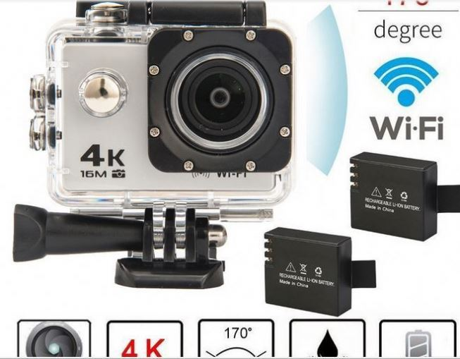 "SJ9000 4K HD WiFi Sports Action Camera 2.0"" LCD 16MP Diving DVR Video Camcorder"