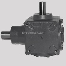 1:1 ratio 90 degree transmission bevel gearbox made in Dongguan China