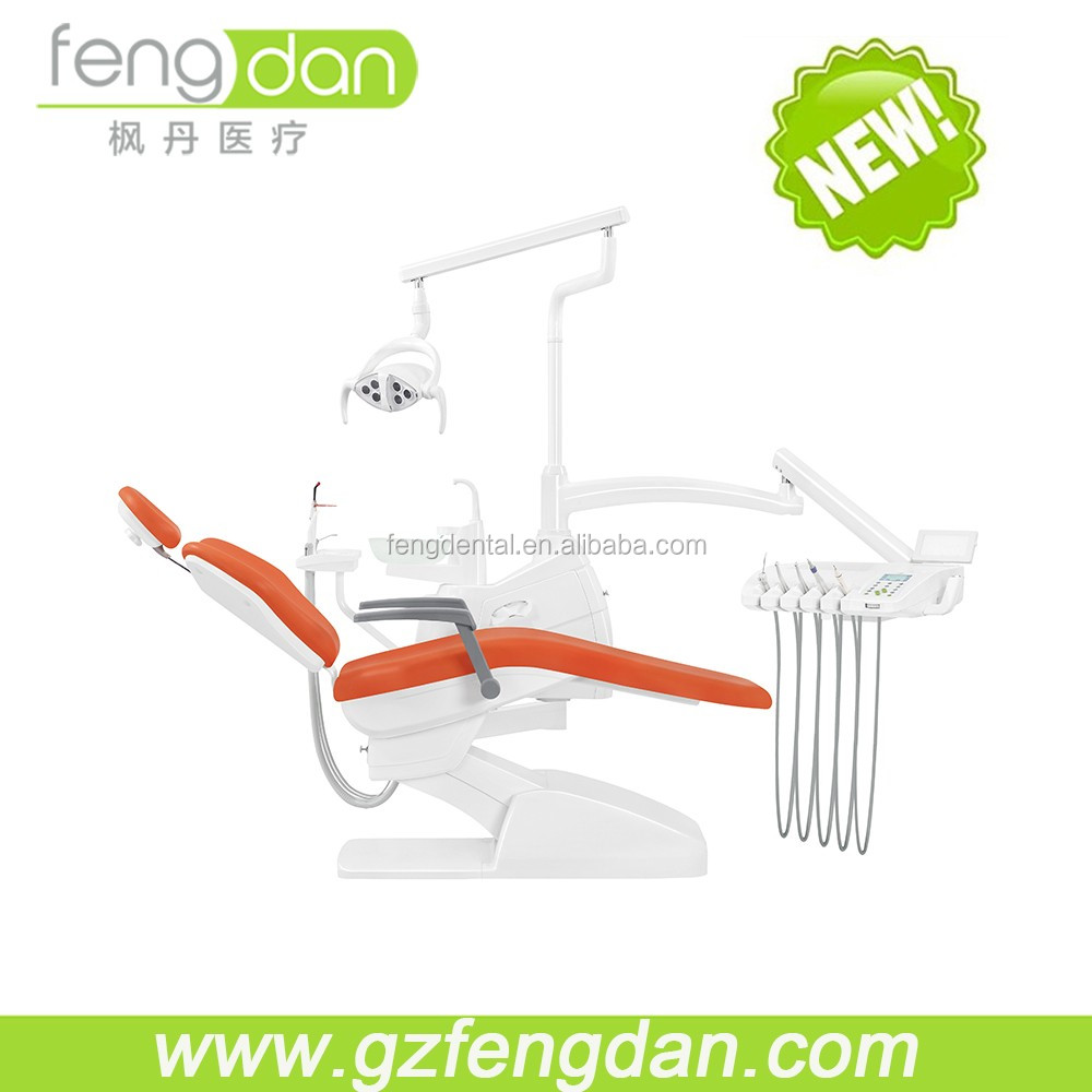 Guangzhou FENGDAN new design popular unique luxury foshan dental chair dental equipment confident dental chair price list