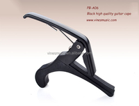 for sale guitar capo, alluminum allory balck color guitar capo (PB-A06)