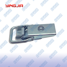 Trailer over center draw toggle latch lock