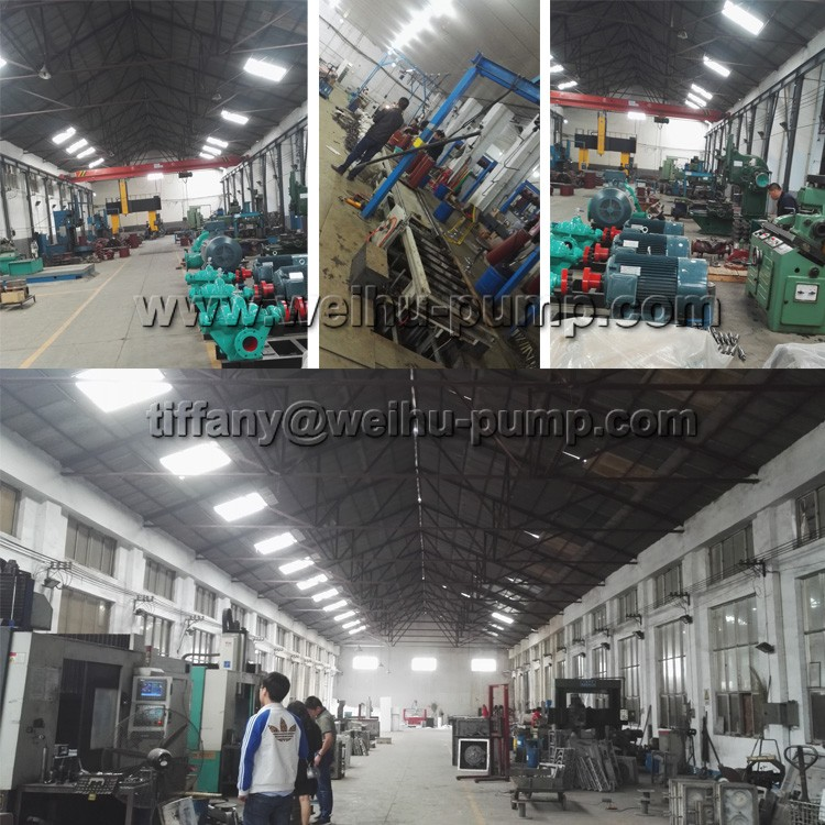 D Multistage Electric Centrifugal Pump Operation