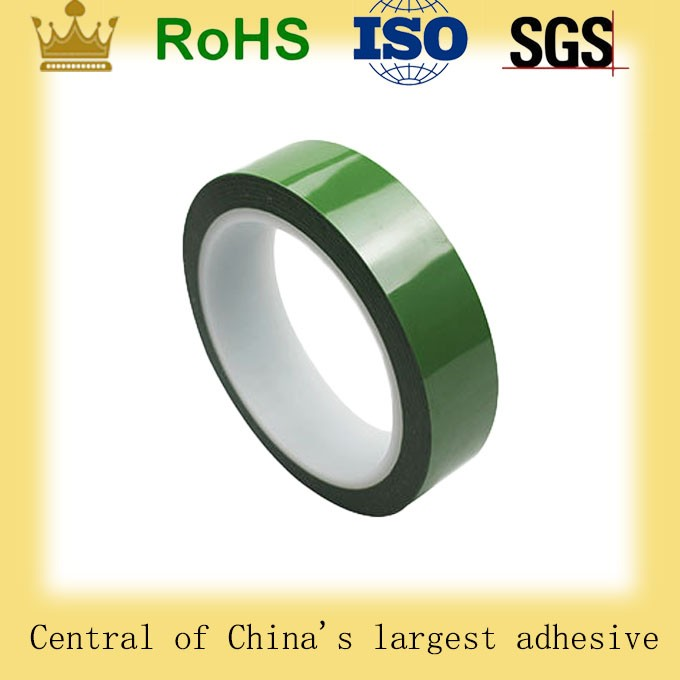 China Supplier Free Sample High temperature Powder Spraying green polyester tape