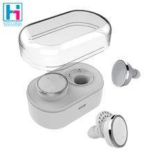Q800 Wireless Earbuds With Mic Mini Dual Modes Bluetooth V4.1Headphones with Charging Case White Color