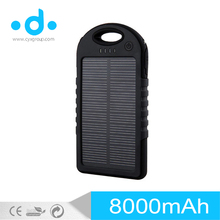 LED Camping Light Solar PowerBank 10000mah Portable Solar Power Bank for mobile phones