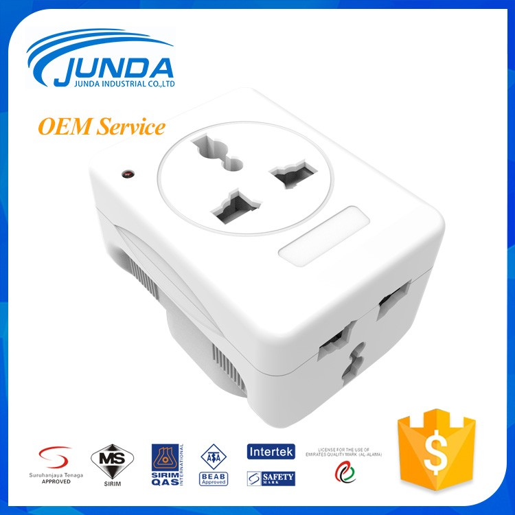 Hot selling universal travel plug retractable usb outlet electrical adapter charger