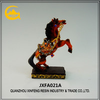 Resin horse statue desk horse sculpture for home decoration