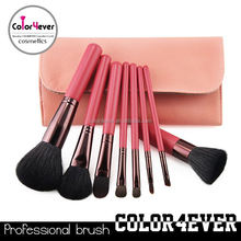 Distributor!8Pieces professional cosmetic goat hair makeup kit beauty accessory