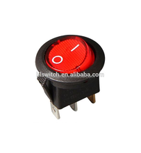 UL94V-2 ON-OFF 2pin Round Rocker Switch