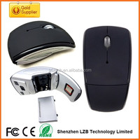 Best promotional 2.4G wireless foldable mouse, folding wireless mouse