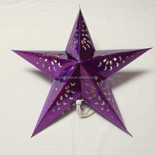 250GSM Art paper Star Lantern Chart Paper Decoration