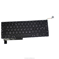 Factory Norwegian Design Laptop keyboard Replacement For Macbook Pro A1286 2009-2012